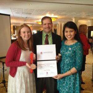 Outstanding Campus Red Cross Club Award