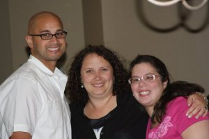 Junior Delgado, Helen Brown and Tulin at the 2011 Conference