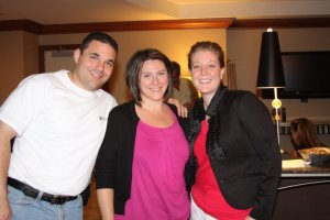 Dylan Schweitzer, Enterprise Rent-A-Car, PJ Macom, Liberty Mutual and Nikki at the 2010 EACE Conference