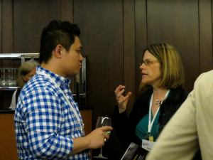 Conversation at 2014 EACE Conference Credit: Jennifer Barr