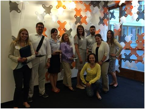 EACE members at the HubSpot headquarters in Cambridge, MA