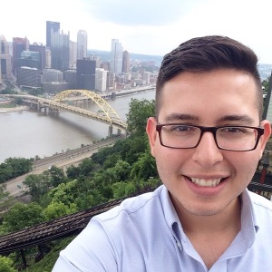 My award-winning #EACE selfie at the top of the Duquesne Incline! #bragalert